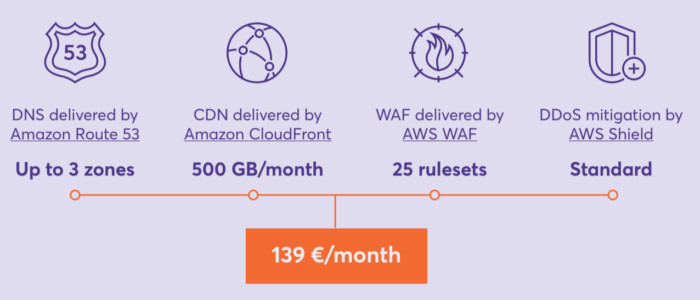 SPECIAL PACKAGE OF AWS EDGE SECURITY SERVICES